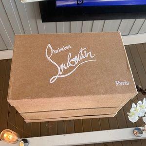 Christian Louboutin shoebox box